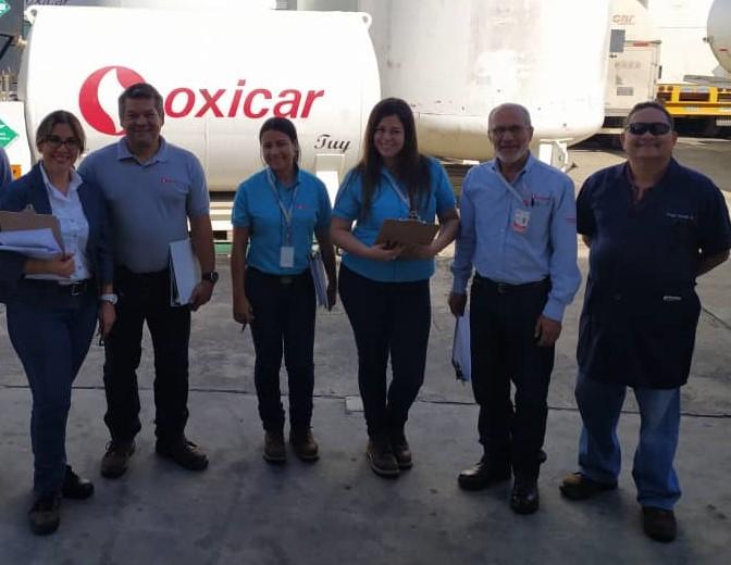 auditoría realizada en la empresa OXICAR